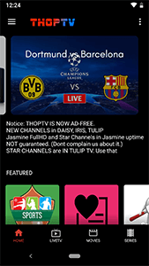 thoptv screen shot 1